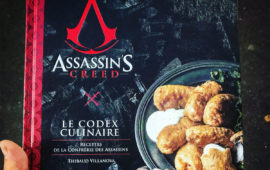 GastronoGeek sort un livre inspiré de l'Univers Assassin's Creed